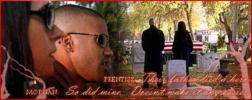 морган and Prentiss banner