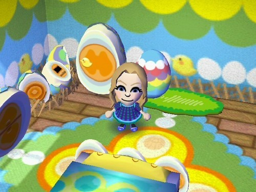 My mii in Animal Crossing