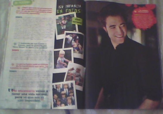 """New Rob's Photoshoot from the October Issue of """"TU"""" Mexican Mag"""