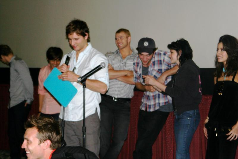 New pictures from the Twilight Screening in Comic Con