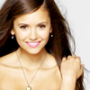 The Vampire Diaries TV toon foto containing a portrait, attractiveness, and skin called Nina Dobrev