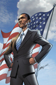 Obama bio cover - barack-obama fan art