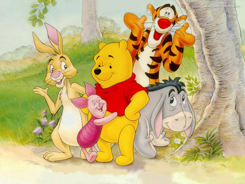 Pooh and sidekicks (friends)