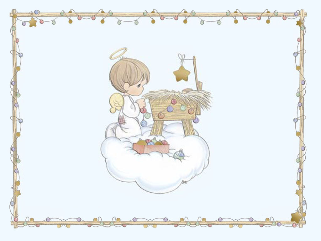 precious moments christmas wallpaper background - photo #4