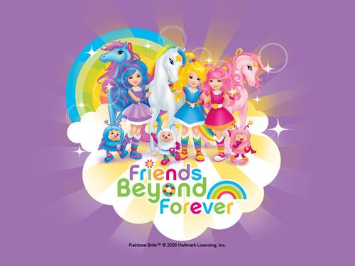 "arco iris Brite ""Friends Beyond Forever"""