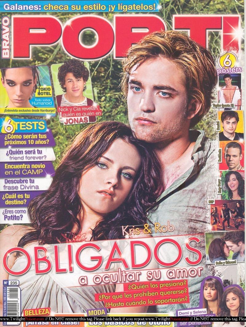 Robert Pattinson in Por Ti Magazine