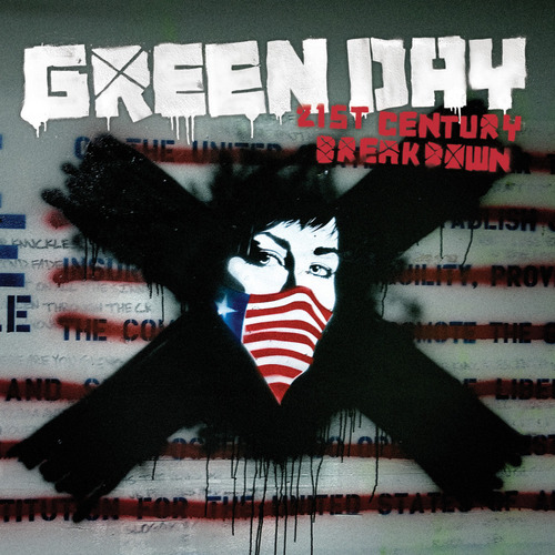 Green Day wallpaper possibly containing anime called Single Artwork For '21st Century Breakdown'