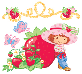 Strawberry Shortcake wallpaper entitled Strawberry