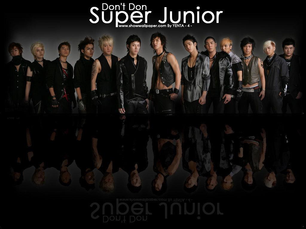 Super Junior's don't don