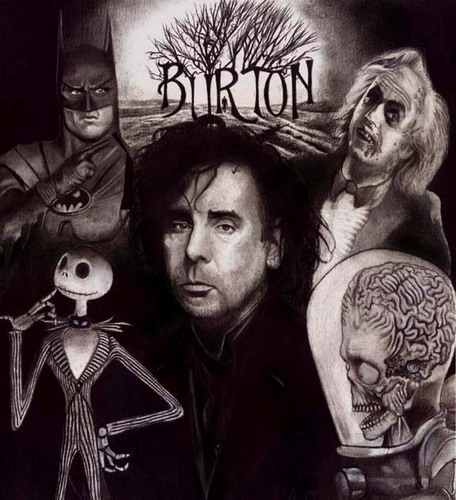 Tim burton wallpaper called Tim burton dark