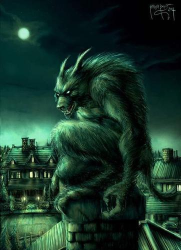manusia serigala wallpaper entitled Werewolf