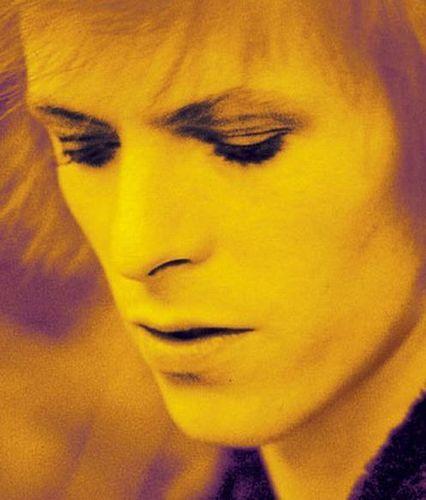 Ziggy Stardust wallpaper with a portrait titled Ziggy Stardust