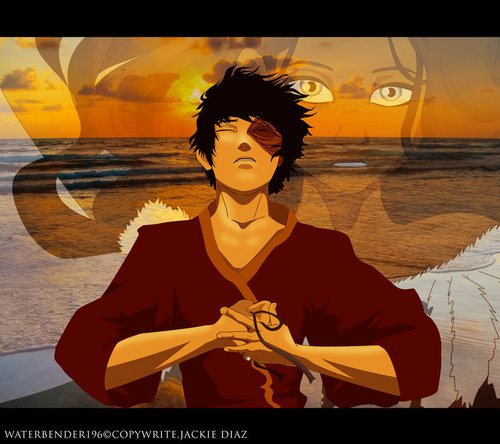 Zuko and Katara wallpaper probably with a portrait entitled Zutara