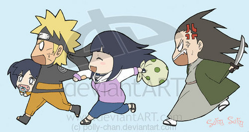 damn it naruto!! run!!!! - naruto-shippuuden Photo