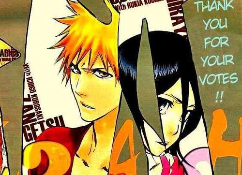 falling in amor with Rukia