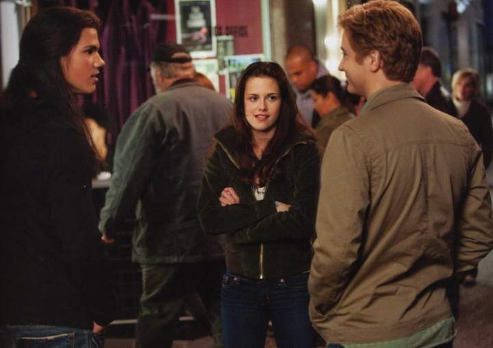 jacob,bella and mike
