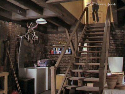 manor:attic and basement;)