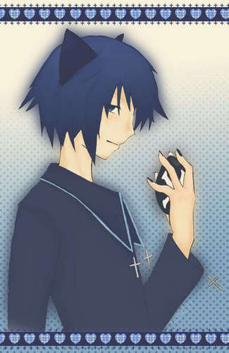 Ikuto Tsukiyomi wallpaper possibly containing anime titled tsukiyomi ikuto