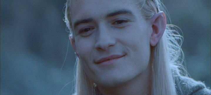 Do you prefer Legolas when he is serious or when he smiles ...