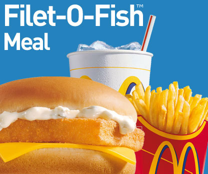 What is your favorite food here poll results mcdonald 39 s for Mcdonalds fish fillet