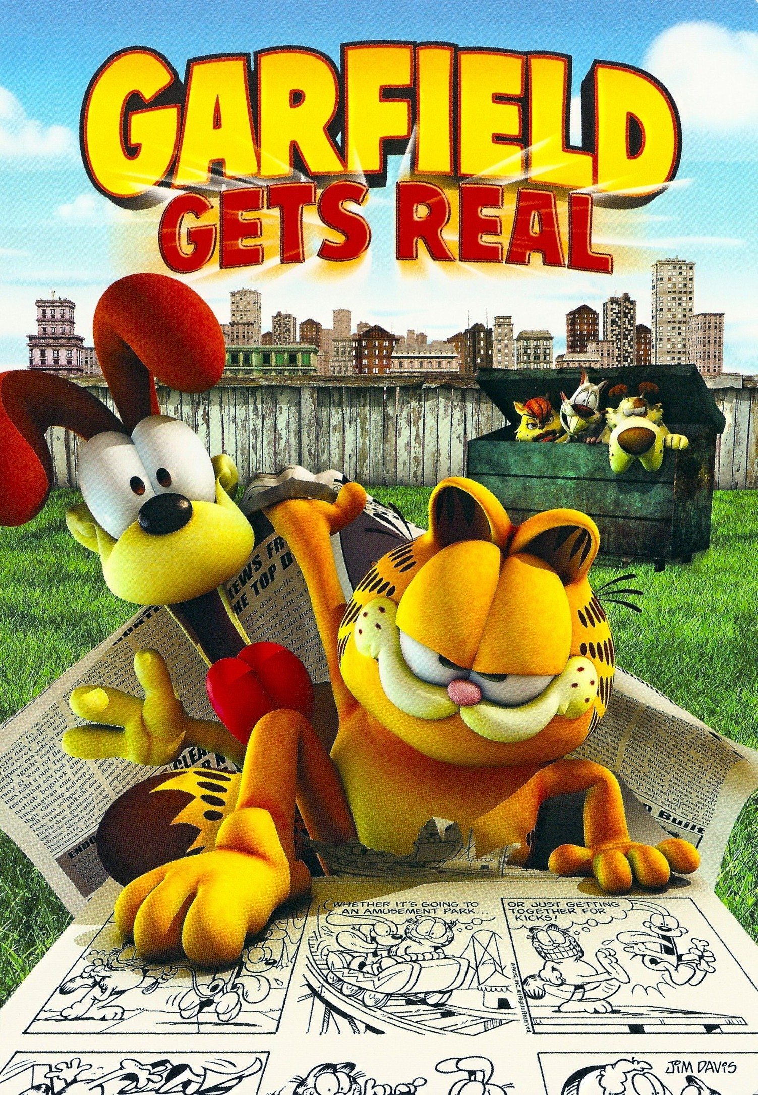 Garfield the Movie 2004 DVD