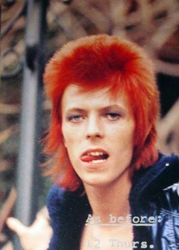 do you prefer david bowie with either red blond or dark