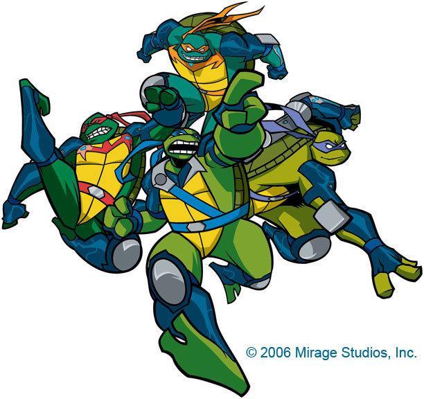 Черепашки ниндзя 2003 картинки