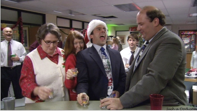 Image result for the office christmas party