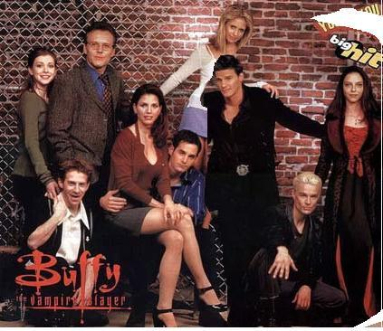 Season 2 - Buffy, Xander, Willow, Giles, Cordy, Angel, Oz, Jenny, Spike, Dru
