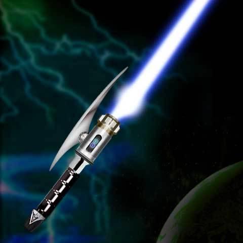 Как сделать настоящий световой меч если есть все