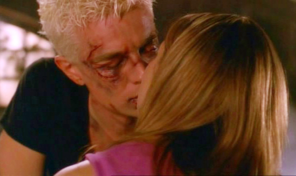 buffy and spike first kiss