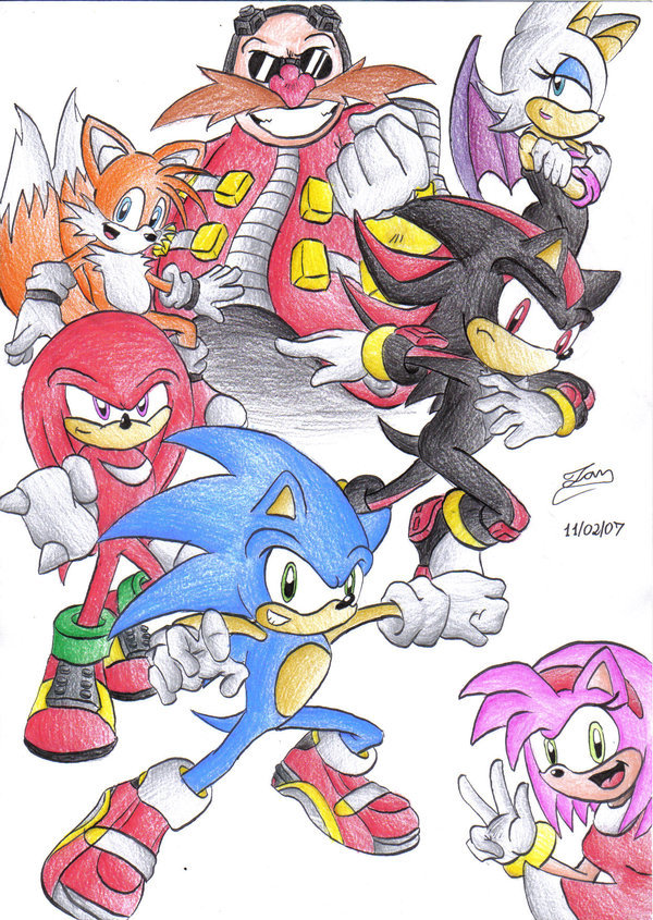 can you draw sonic or any of his friends poll results