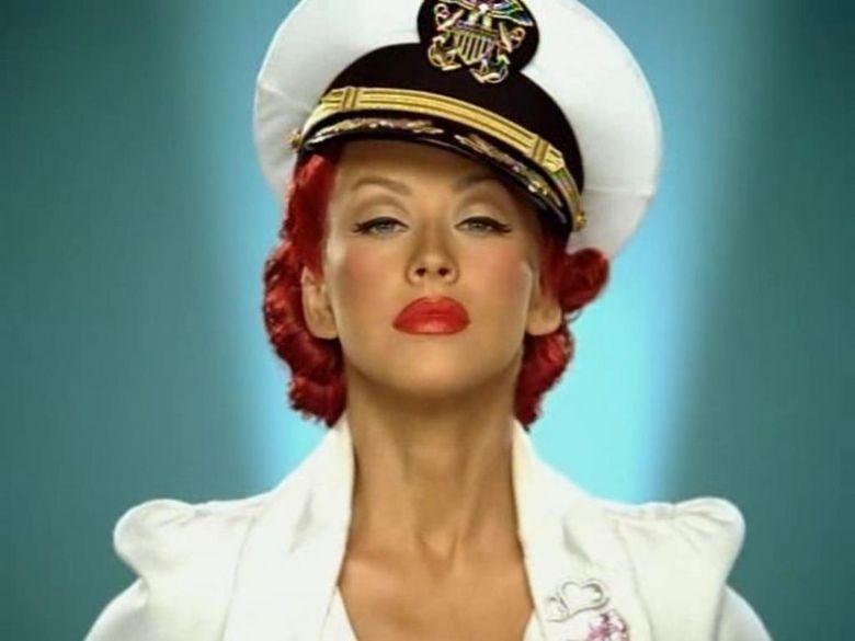 Where do you reckon he... Christina Aguilera Candyman