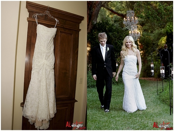 which avril lavigne\'s wedding dress do you like? - Avril Lavigne ...