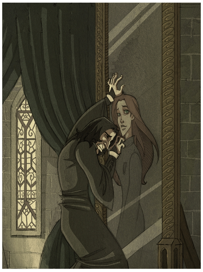 What does snape see in the mirror of erised poll results for Miroir du rised