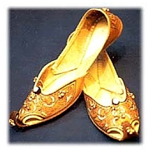 Slipper Like Shoes That Chinese Wear