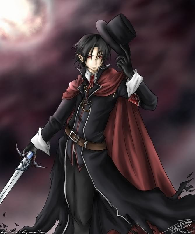 Anime Characters Vampire : Lucas