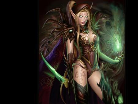 Blood Elf And Night Elf