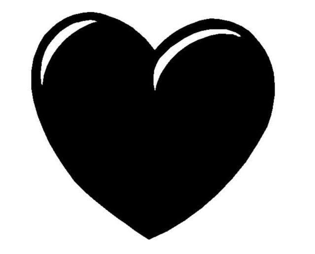 сердце на аву: