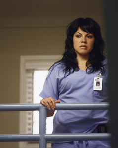 What type of surgery does Callie specialize in?