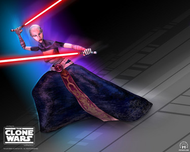 Who instructed Assajj Ventress in the ways of the Dark side?