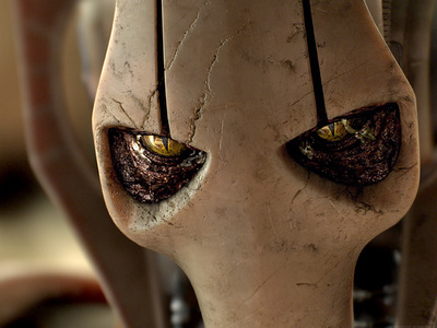 What was Grievous' name before he became the cyborg General Grievous?