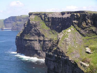 The Cliffs of ________!