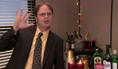 The Office Dwight Yelling