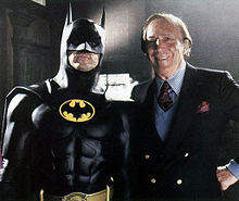 Bob Kane (batman's creator) was suposed to have a cameo in Бэтмен (1989)?