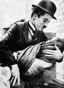 Charlie Chaplin is the grandfather of _________________ and ______________.