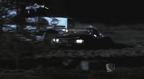 In Devil's Trap 1x22 what did Kripke orginally want to happen to the impala?