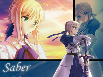 Who is Saber master?