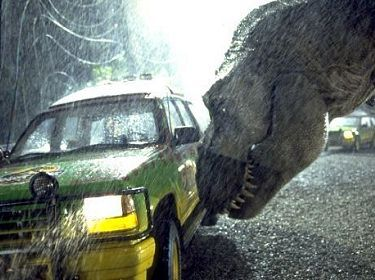 What major character from the novel, Jurassic Park, is not in the movie, Jurassic Park?