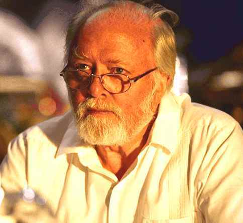 T/F: John Hammond's character/personality is the same in both the novel and movie.